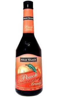 Hiram Walker Peach Brandy Photo