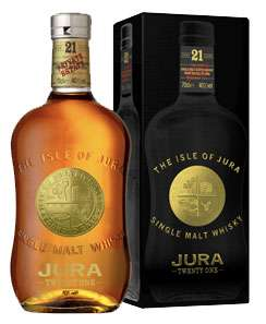 Isle of Jura 21 Year Old Singla Malt Scotch Photo