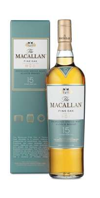 The Macallan 15 Year Old Single Malt Scotch Whisky - Fine Oak Series Photo