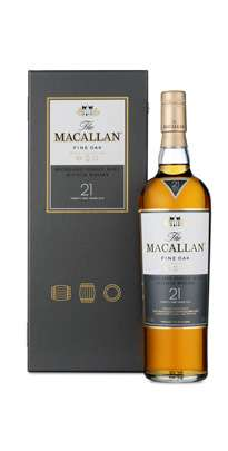 The Macallan 21 Year Old Single Malt Scotch Whisky - Fine Oak Series Photo