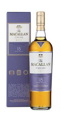 The Macallan 18 Year Old Single Malt Scotch Whisky - Fine Oak Series Photo
