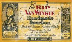 Old Rip Van Winkle 10 Year Old Bourbon 107 Proof Photo