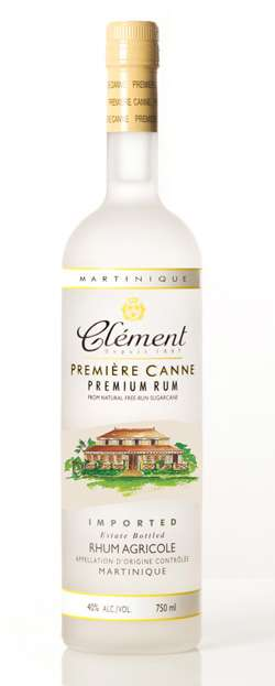 Rhum Clement Premier Canne White Rum Photo