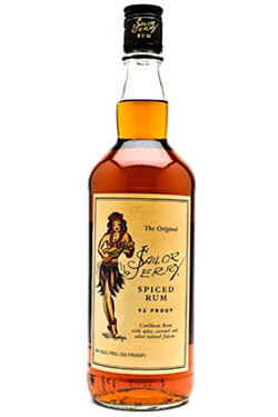 Sailor Jerry Spiced Navy Rum Photo