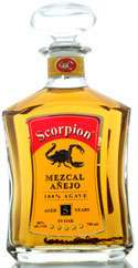 Scorpion Mezcal 5 year old Anejo Photo