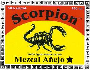Scorpion Mezcal Anejo Photo