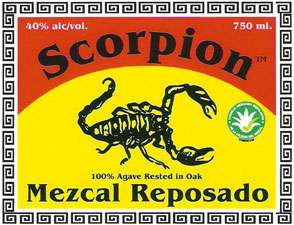 Scorpion Mezcal Reposado Photo