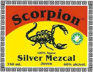 Scorpion Mezcal Silver Photo