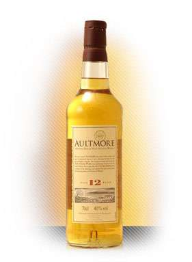 Aultmore 12 Year Old Speyside Single Malt Scotch Whisky Photo