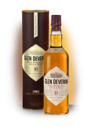 Glen Deveron 10 Year Old Highland Single Malt Scotch Whisky Photo