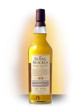 Royal Brackla 10 Year Old Highland Single Malt Scotch Whisky Photo