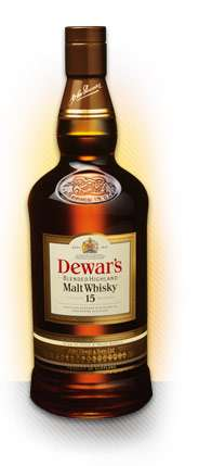 Dewars 15 Year Old Blended Highland Malt Whisky Photo