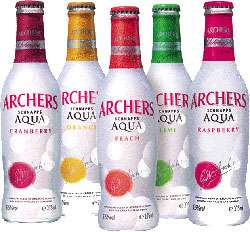 Archers Aqua Raspberry Photo