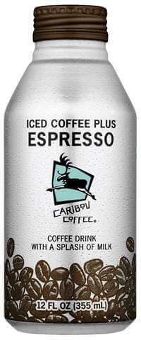 Caribou Iced Coffee Plus Expresso Photo
