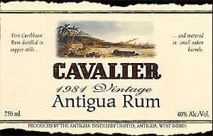 Cavalier Extra Old Rum Photo
