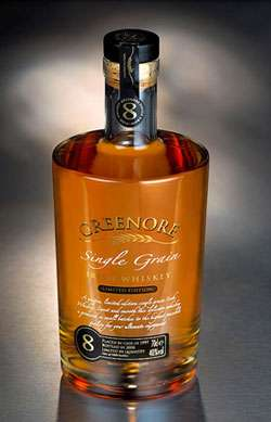 Greenore 8 Year Old Single Grain Irish Whiskey Photo