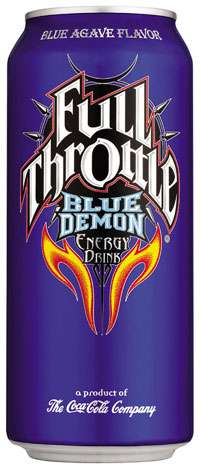 Full Throttle Blue Demon Photo