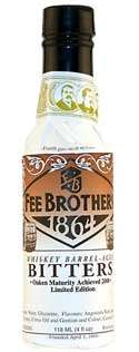 Fee Brothers Whiskey Barrel-Aged Aromatic Bitters Photo