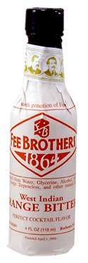 Fee Brothers West Indian Orange Bitters Photo