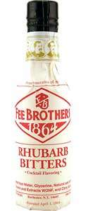 Fee Brothers Rhubarb Bitters Photo