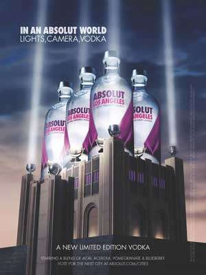 Absolut Los Angeles Vodka Photo