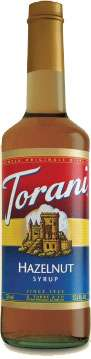 Torani Hazelnut Syrup Photo