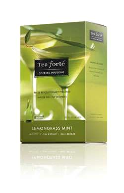 Tea Forte Lemongrass Mint Cocktail Infusion Photo