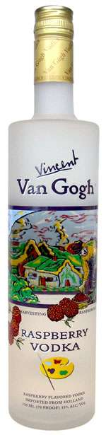 Van Gogh Raspberry Vodka Photo