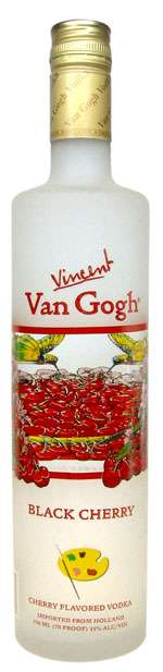 Van Gogh Black Cherry Vodka Photo