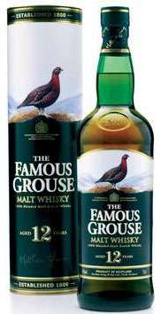 The Famous Grouse 12 Year Old Malt Whisky Photo