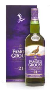 The Famous Grouse 21 Year Old Malt Whisky Photo