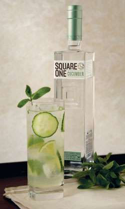 Square One Cucumber Flavored Organic Vodka Photo