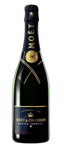 Moet and Chandon Nectar Imperial Champagne Photo