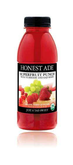 Honest Tea's Honest Ade Superfruit Punch Photo