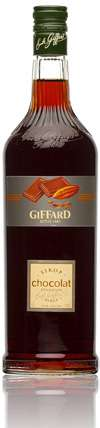 Giffard Black Chocolate Syrup Photo