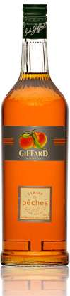 Giffard Peach Syrup Photo