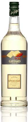 Giffard White Chocolate Syrup Photo