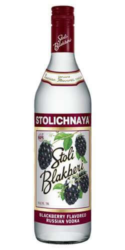 Stolichnaya ( Stoli ) Blackberry Vodka Photo