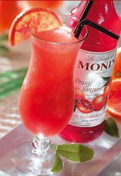 Monin Blood Orange Syrup Photo