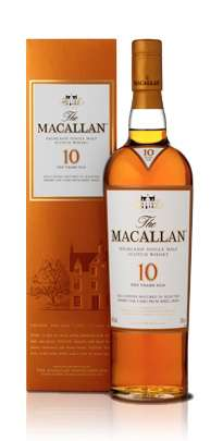 The Macallan 10 Year Old Single Malt Scotch Whisky - Sherry Oak Series Photo