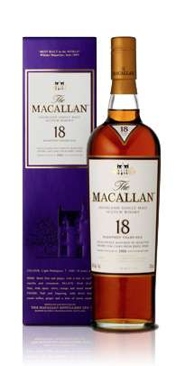 The Macallan 18 Year Old Single Malt Scotch Whisky - Sherry Oak Series Photo