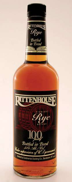 Rittenhouse Straight Rye Whiskey Photo