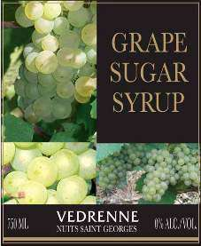 Pages Vedrenne Pure Grape Sugar Syrup Photo