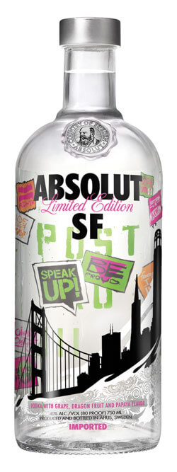 Absolut SF Vodka Photo