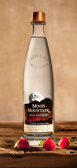 Moon Mountain Wild Raspberry Vodka Photo