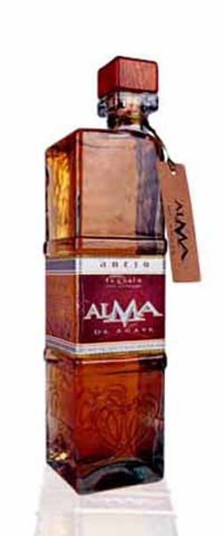 Alma De Agave Anejo Tequila Photo
