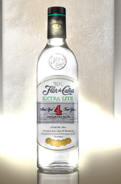 Flor de Cana Extra Lite 4 Year Old White Rum Photo