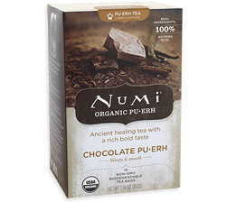 Numi Chocolate Pu -erh Tea Photo
