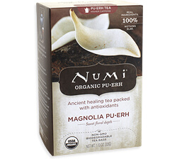 Numi Magnolia Pu -erh Tea Photo