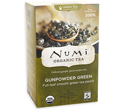 Numi Gunpowder Green Tea Photo
